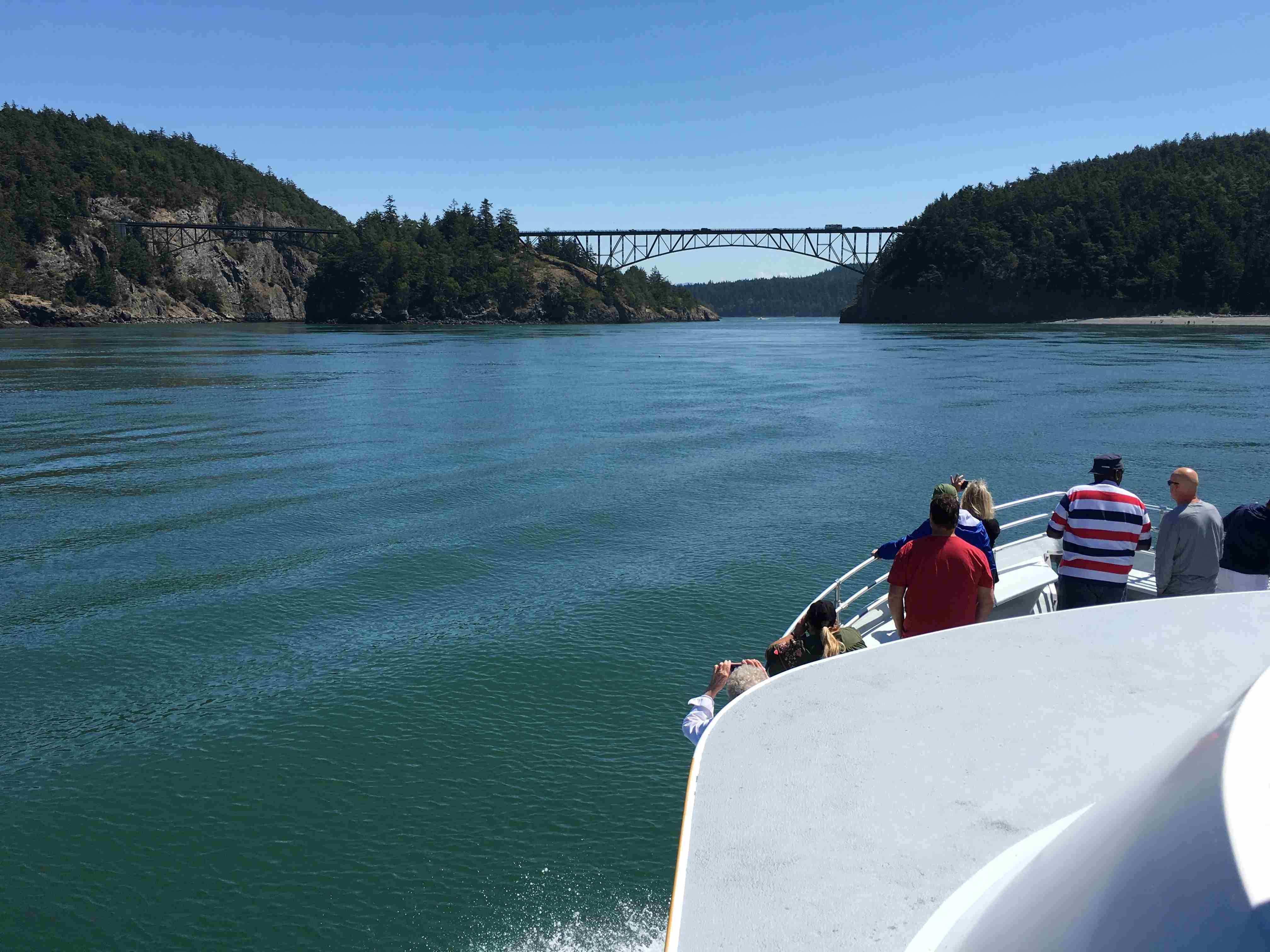Deception Pass from Water